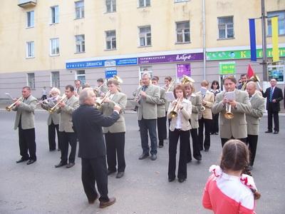 Духовой оркестр на ул. Кирова